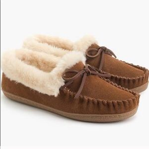 J.Crew moccasin slippers